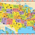 Image Result For Map Of United States Kid Friendly Printable | Printable Kid Friendly Map Of The United States