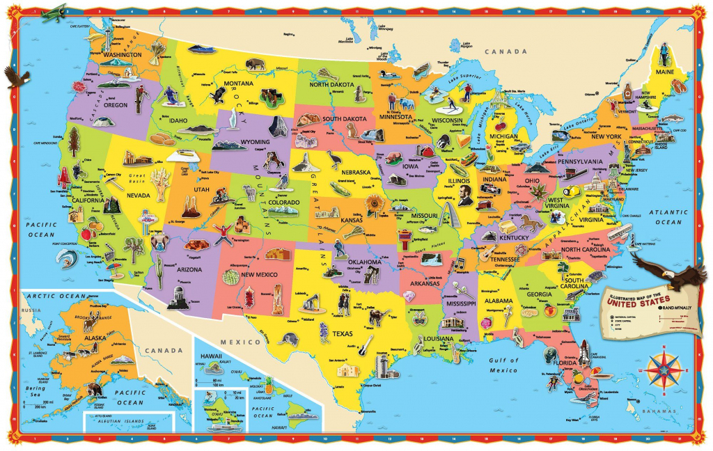 Image Result For Map Of United States Kid Friendly Printable | Printable Kid-Friendly Map Of The United States