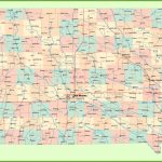 Large Detailed Map Of Iowa With Cities And Towns | Printable Map Of Central Usa