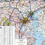 Large Detailed Map Of Maryland With Cities And Towns | Large Printable Road Map Of The United States