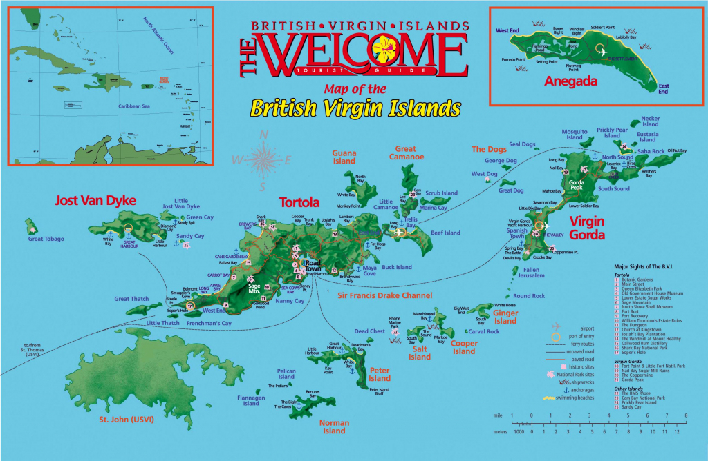 Large Tortola Maps For Free Download And Print | High-Resolution And | Printable Map Of Us Virgin Islands
