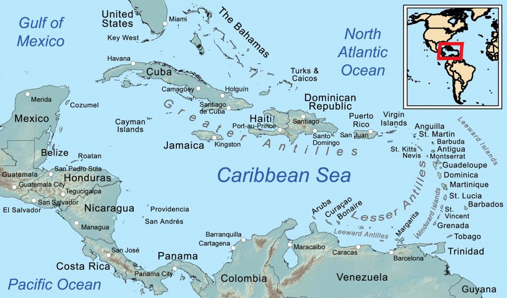 Leeward Islands - Wikipedia | Printable Map Of Us Virgin Islands