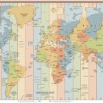 List Of Utc Time Offsets   Wikipedia | Printable Us Time Zone Map Pdf