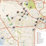 Los Angeles Printable Tourist Map | Sygic Travel | Printable A3 Map Of Usa
