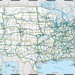 Major Us Cities And Roads Map Usa 352047 Luxury Awesome Usa Map With | Printable Map Of Us Highways