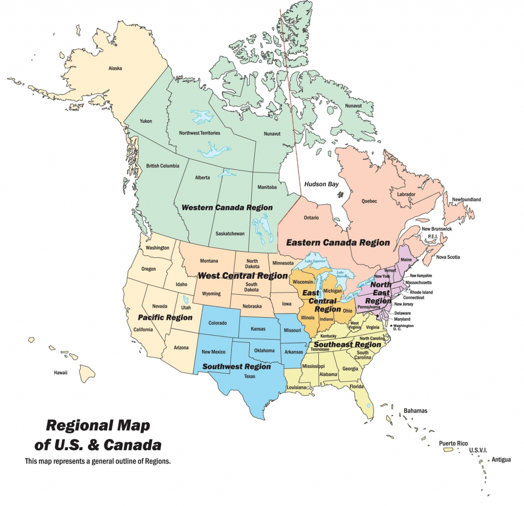 Map Of Canada Us Border Ontario Beautiful Printable Us Map With | Printable Us Map With Canada And Mexico