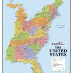 Map Of Eastern United States Printable Interstates Highways Weather | Printable Map Of The Eastern United States