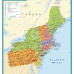 Map Of Eastern Us Printable North East States Usa Refrence Coast | Printable Map Of Eastern Usa