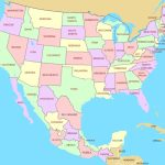 Map Of Mexico And Usa Printable Y 1 Maps Update 1309999 83 At States | Printable Map Of United States And Mexico
