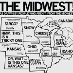 Map Of Midwest Usa States And Capitals Region Of United States | Printable Map Of Midwest Usa