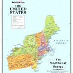 Map Of Northeast Us And Canada East Coast Usa Map Best Of Printable | Printable Map Of Northeastern Us
