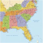 Map Of Southeast Region Of Us Map Of Southeastern Luxury Awesome Us | Printable Map Of Se Usa