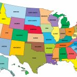 Map Of The Us States Labeled Statesbright New Top Map United States | Printable Map Of The United States