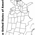 Map Of The Usa Coloring Page | Kids | Us State Map, Map Worksheets | Printable Us Map Coloring Page