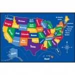 Map Of Us Printable For Kids United States Map Inspirational | Printable United States Map For Kindergarten