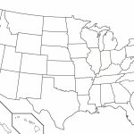 Map Of Usa Without Names State Inspirational 50 States | Free Printable United States Map Without State Names