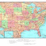 Map Usa States Cities Printable Inspirational United States America | Printable Map Of Usa Cities