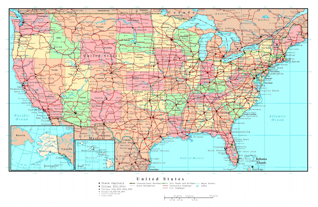 Map Usa States Cities Printable Inspirational United States America | Printable Map Of Usa With States And Cities