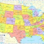 Map Usa With Major Free Print Of United States Cities X Zone | Printable Map Of Usa With States And Major Cities