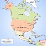 Maps Of North America   World Wide Maps | Printable Map Of North American Countries