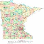Minnesota Printable Map | Large Printable Us Road Map