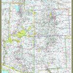 National Geographic Us Map Printable Fresh Four Corners Atlas Wall   National Geographic Us Map Printable