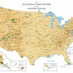National Park Map Of The Us National Parks Unique Printable Map Us | Printable Us Map National Parks