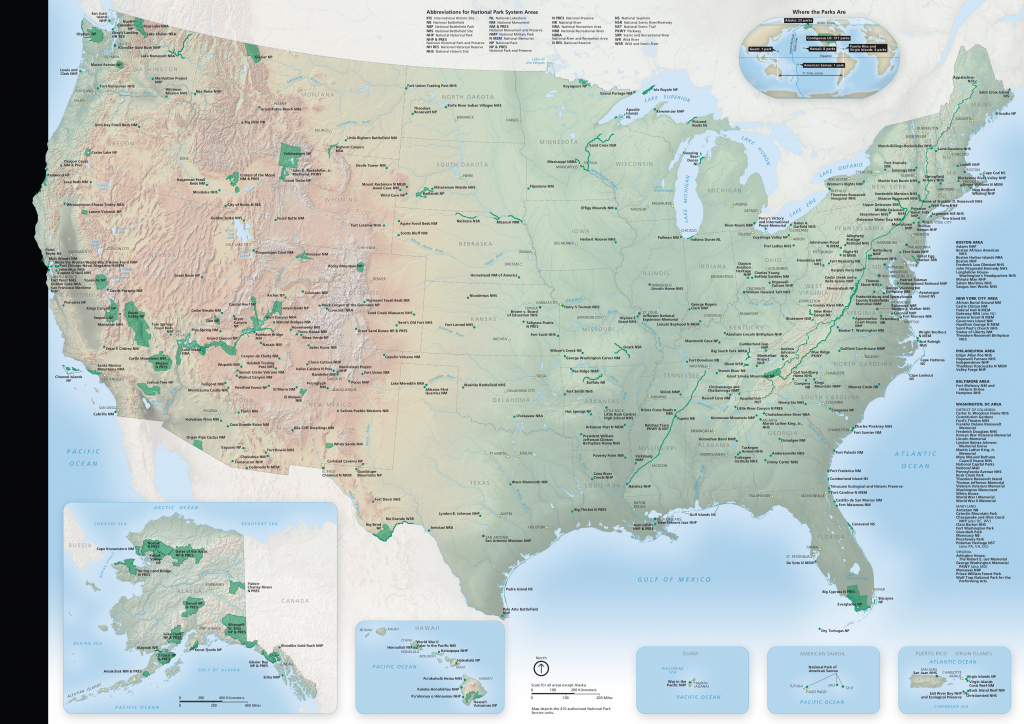 National Park Maps   Npmaps - Just Free Maps, Period.   Printable Map Of National Parks In Usa