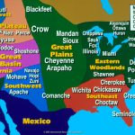 Native America Study | Printable Map Of Native American Regions