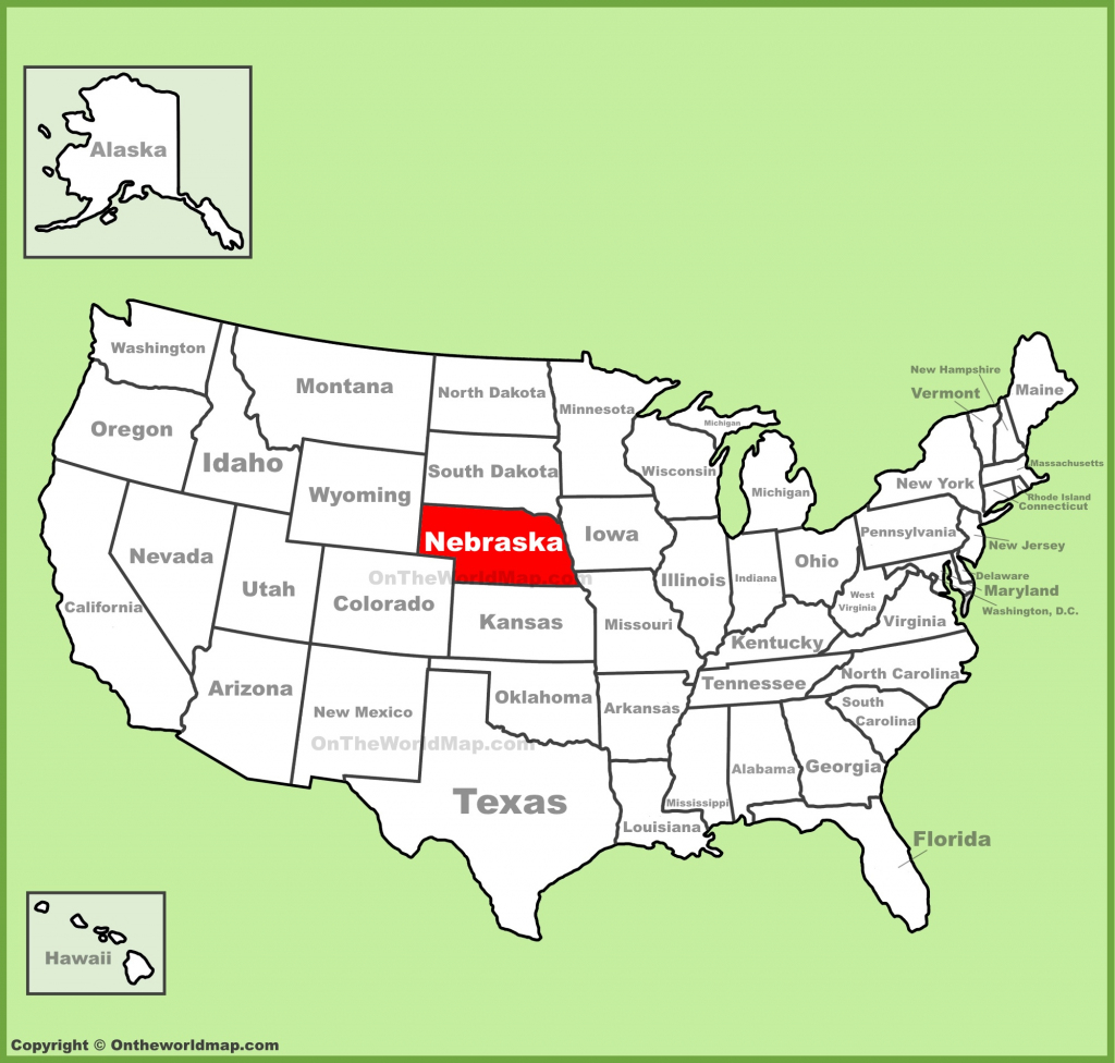 Nebraska State Maps | Usa | Maps Of Nebraska (Ne) | Printable Map Of Ne Usa
