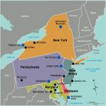 New Map Of Northeast Us And Canada Northeast Us   Passportstatus.co   Printable Map Of Ne United States