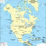 North America Latitude And Longitude Map | Printable Usa Map With Latitude And Longitude