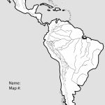 North And South America Physical Map Free Printable Blank The United | Free Printable Physical Map Of The United States