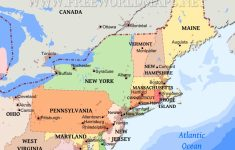 Northeastern Us Maps | Printable Map Of Northeast Us