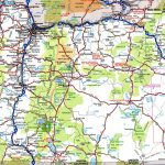 Oregon Road Map | Large Printable Us Road Map
