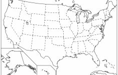 Outline Map Of The 50 Us States | Social Studies | Geography Lessons | Printable United States Map With Scale