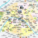 Paris Tourist Map Pdf World A3 Printable Of Europe | Printable A3 Map Of Usa