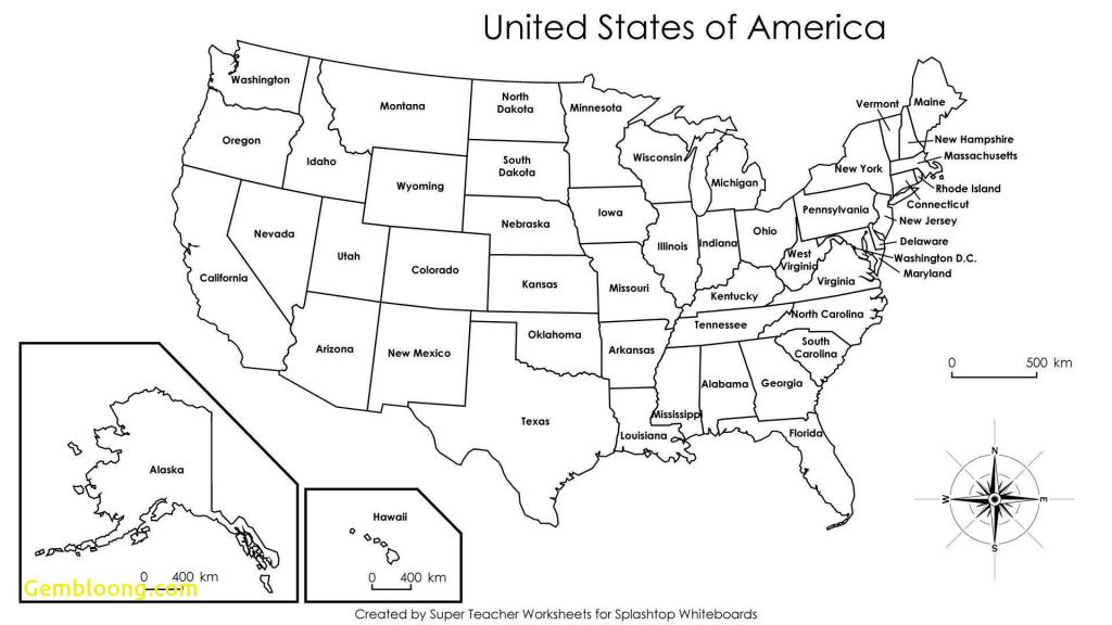 Pdf Printable Us States Map Inspirational United States Map | Free Printable Us Map Pdf