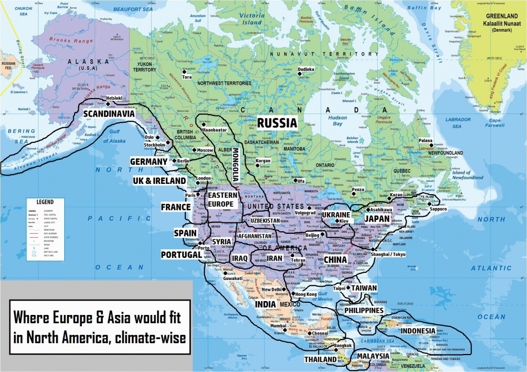 Physical Features Of United States Map Best Geography Map North | Printable Us Geography Map