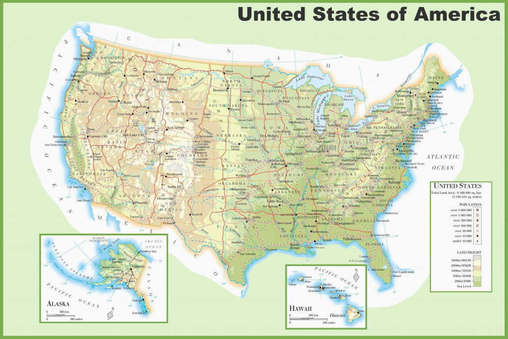 Physical Map Of Usa Google Maps States Wiring Get Free Remarkable | Physical Map Of Usa Printable