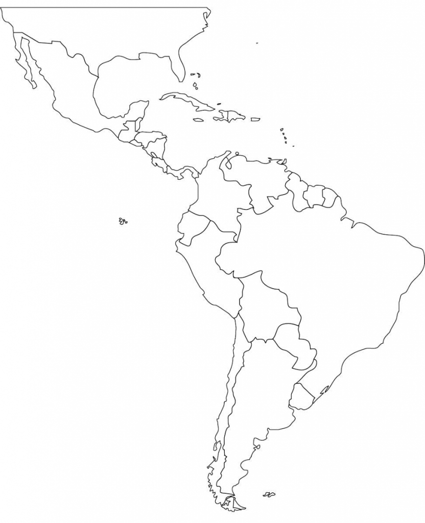 Pincecilia Dominguez On Cecilia | Latin America Map, South | Printable South America Map Quiz
