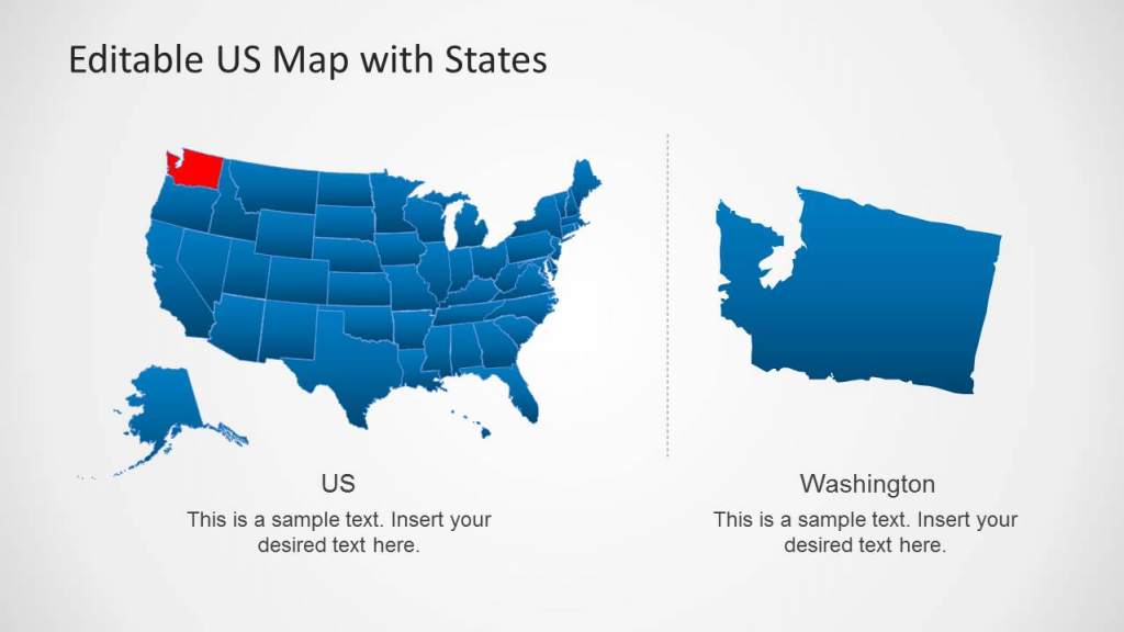 Ppt Us Map - Rama.ciceros.co | Blank Us Map For Powerpoint