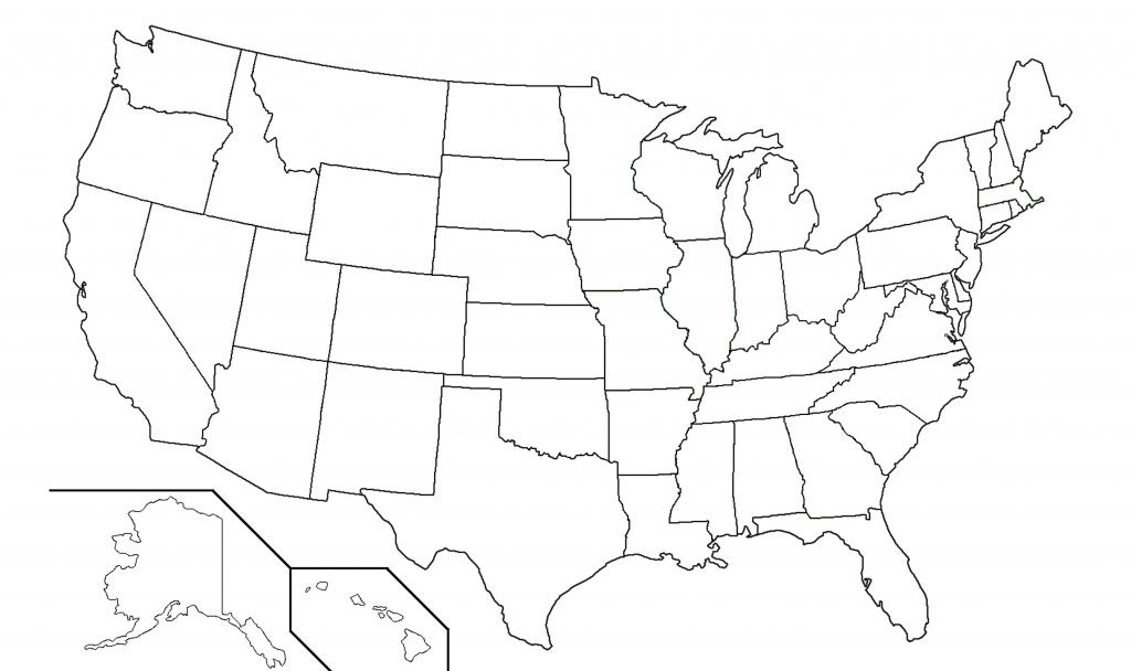 Printable Blank Us Map Free Blank Us Maps My Blog Lovely Printable | Printable Map Of The Usa Blank