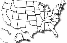 Printable Blank Us Map Free Blank Us Maps My Blog Luxury United | Printable Coloring Map Of The Usa