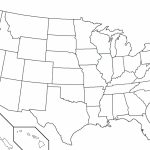 Printable Blank Us Map Free Maps United States In Beststate Of 9 | Printable Empty Map Of The United States