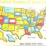 Printable Map Of California For Kids Free Printable Map Us Printable | Map Of The United States Puzzle Printable
