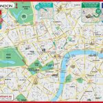 Printable Map Of Central London | Globalsupportinitiative | Printable A3 Map Of Usa
