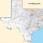 Printable Map Of Texas Cities And Towns And Travel Information | Printable Map Of Texas Usa