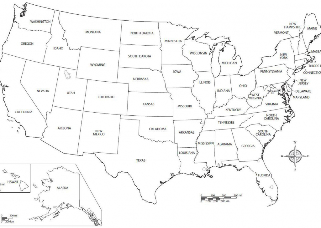 Printable Map Of The United States With Names Inspirational Us Map | Free Printable Us Map With State Names