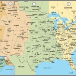 Printable Map Of The Usa With Time Zones | Printable Us Map With Time Zones And Area Codes